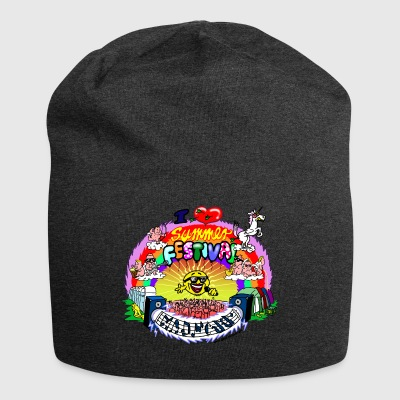 I LOVE summer festival madness - Jersey Beanie