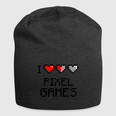 I LOVE PIXEL GAMES - Jersey Beanie