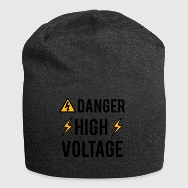 Electrician: Danger! High Voltage! - Jersey Beanie