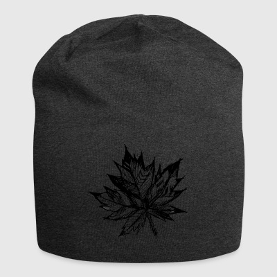 Leaf Hand Drawn - Jersey Beanie