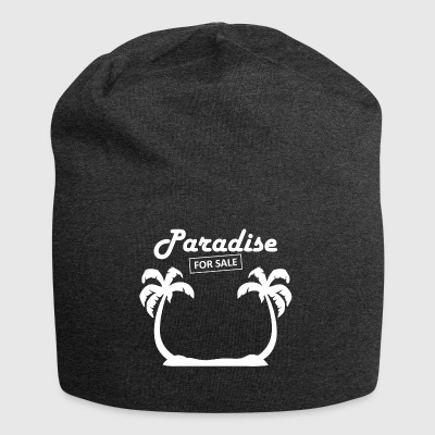 paradise4sale wite - Jersey-Beanie