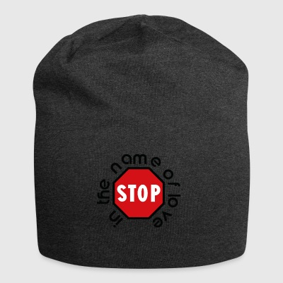 stop_in_the_name_of_love - Jersey-beanie