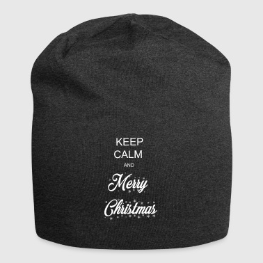 KEEP CALM and Merry Christmas - Jersey Beanie