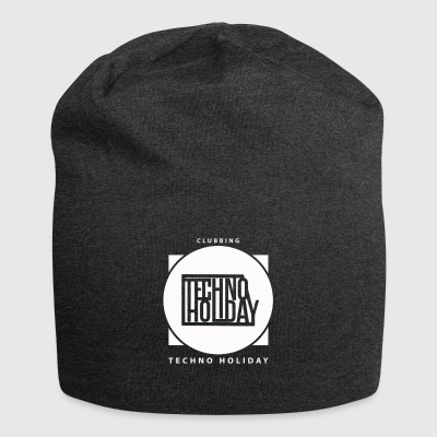 logo_techno_holiday_2017_blanco - Jersey-Beanie