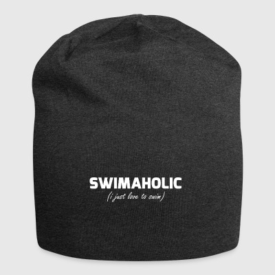 swimaholic (i just love to swim) - Jersey-Beanie