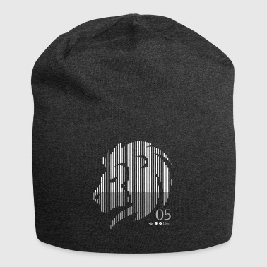 Lion-sign - Beanie in jersey