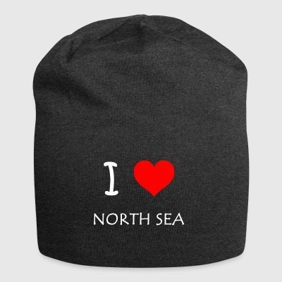 I Love North Sea - Jersey Beanie