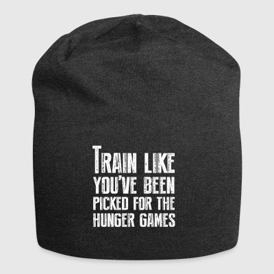 Train for the Hunger Games - Jersey Beanie