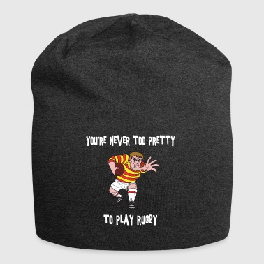 RUGBY You Never sei troppo bella per giocare a rugby - Beanie in jersey