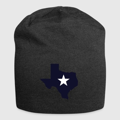 TEXAS State Outline Star - Jersey Beanie
