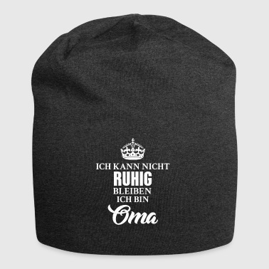 Oma Ruhig - Jersey-Beanie