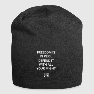 Frihed er i fare - Jersey-Beanie