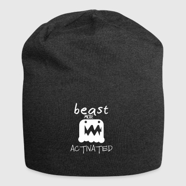 Monster mode activated - beast mode activated - Jersey Beanie