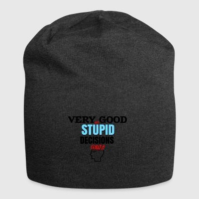 Very good at stupid decisions - Jersey Beanie