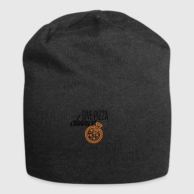 Give this pizza a chance - Jersey Beanie