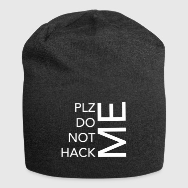 Postal code DO NOT HACK ME - Jersey Beanie
