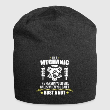 Funny Mechanic - funny mechanic - Jersey Beanie