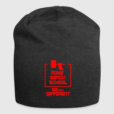 Rome bench Shool - Beanie in jersey