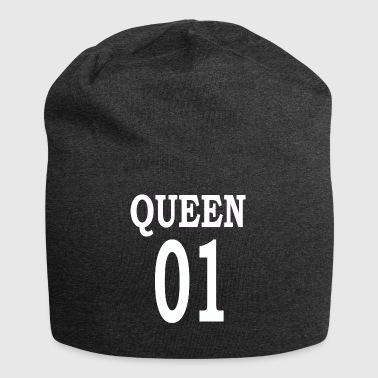 Queen01white - Bonnet en jersey