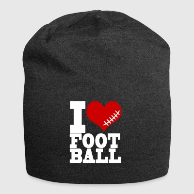 I LOVE FOOTBALL - Jersey Beanie