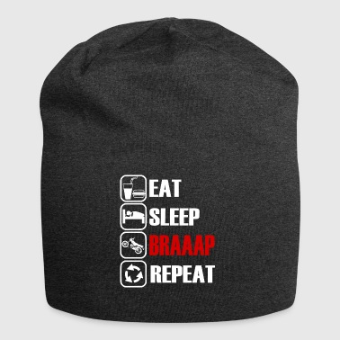 Eat Sleep Repeat Braaap - Simson S51 - Jersey Beanie