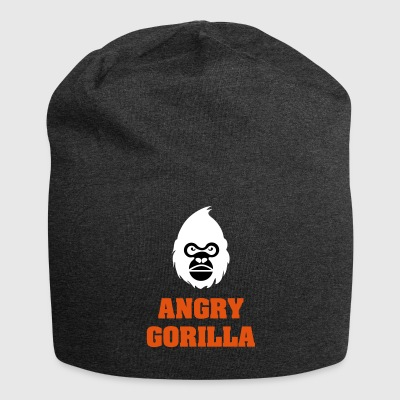 angry_gorilla_white - Jersey-Beanie