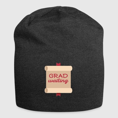 High School / Education: Degree Waiting - Jersey Beanie
