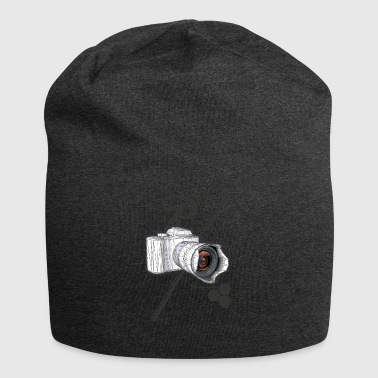 CAM spike photography - Jersey Beanie