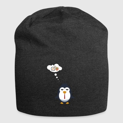 Even penguins dream of Sushi - Jersey Beanie