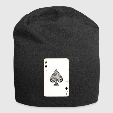 Games Card Ace Of Spades - Jersey Beanie