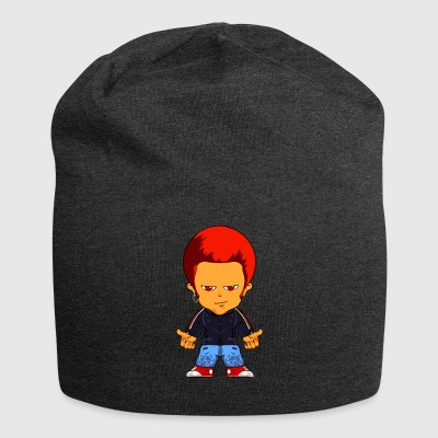 Little gangster comic figure - Jersey Beanie