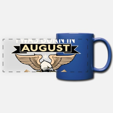 Born In August BORN IN AUGUST - Panoramic Mug