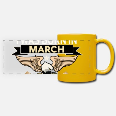 Born In March BORN IN MARCH - Panoramic Mug