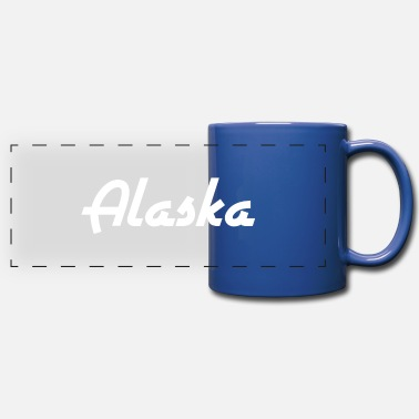 State Alaska - State - United States - United States - Anchorage - Panoramic Mug