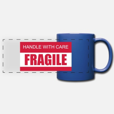 Care FRAGILE Handle with care 2c - Panoramic Mug