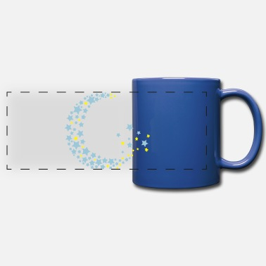 Half Moon half moon and stars cc2 - Panoramic Mug