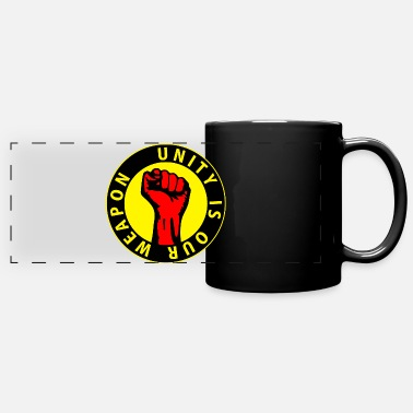 Digital - unity is our weapon - against capitalism - Panoramic Mug