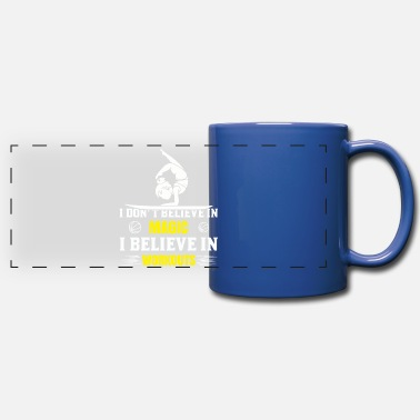 Balance I don't believe in Magic, Workouts - Glide Fit - Panoramic Mug