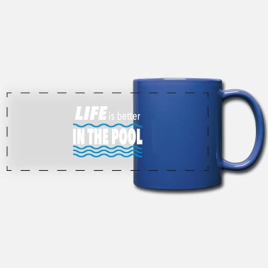 Pool swimming pool - Panoramic Mug