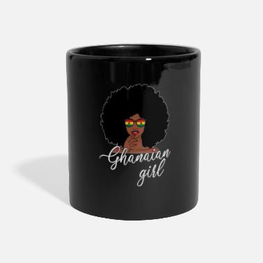 Accra Ghana girl, ghana - Panoramic Mug