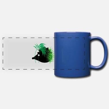 Forest Animal Hedgehog in the forest - animals - forest animals - Panoramic Mug
