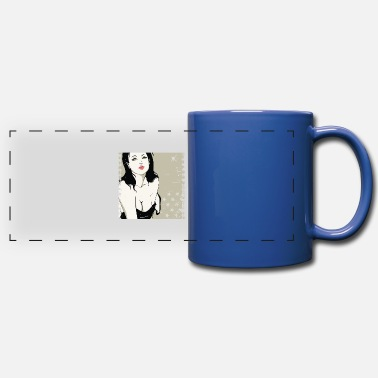 Rock N Roll Underwear Girlfriend - Panoramic Mug