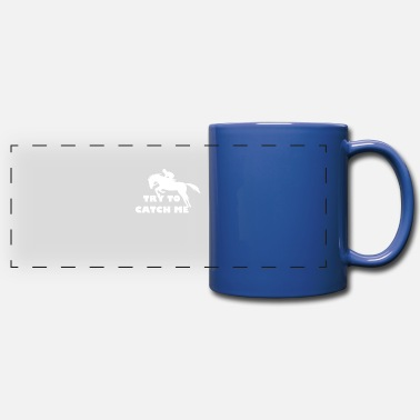 Riding Sayings Horses riding saying - Panoramic Mug