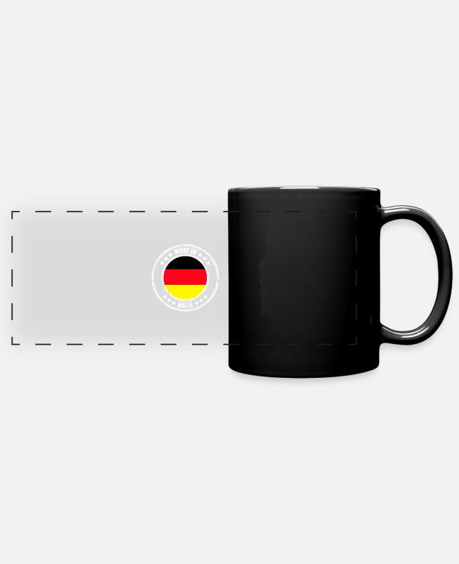Resin Mugs & Drinkware - HALL - Panoramic Mug black