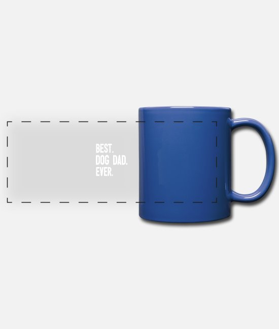 Owner Mugs & Drinkware - Dog owners dog owners - Panoramic Mug royal blue