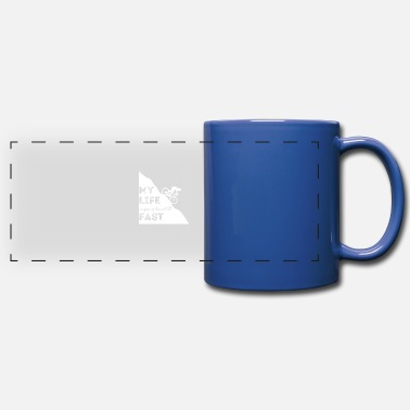 Mountain Bike Mountain biking - mountain biking - mountain bikers - Panoramic Mug