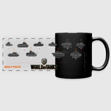 World of Tanks Wolfpack - Panoramakrus, farvet