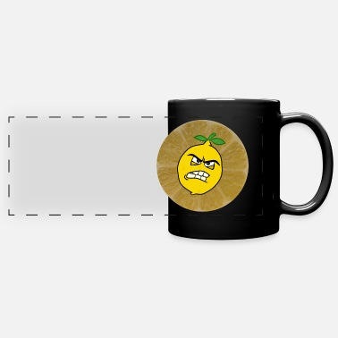 Sour sour lemon is sour - Panoramic Mug