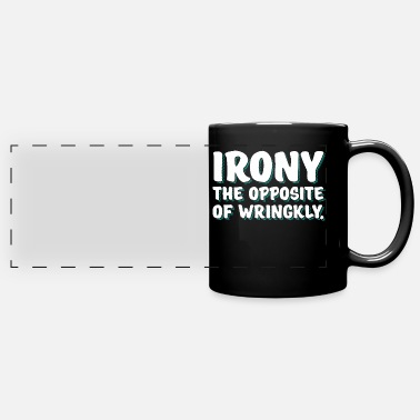Irony irony - Panoramic Mug