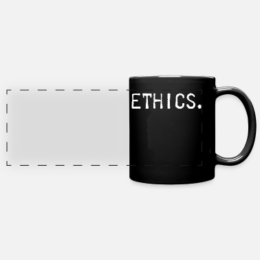 Ethics ethics - Panoramic Mug